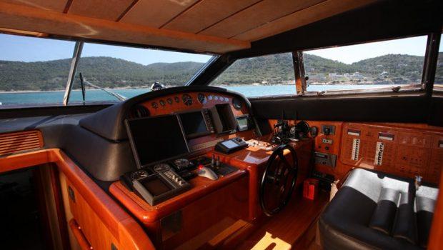 kentavros ii motor yacht bridge (2) min -  Valef Yachts Chartering - 1562