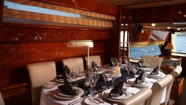 kentavros ii motor yacht dining min -  Valef Yachts Chartering - 1560
