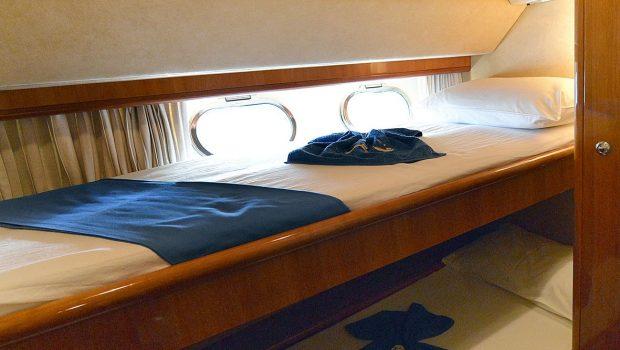 mary motor yacht bunks1 min -  Valef Yachts Chartering - 1466