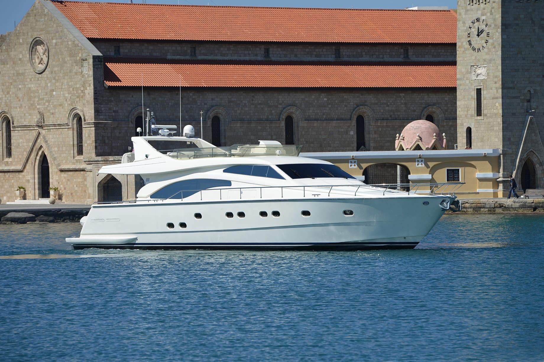 mary motor yacht cruising (2) min -  Valef Yachts Chartering - 1464