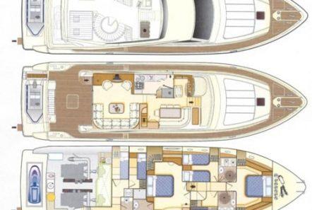 mary motor yacht layout min -  Valef Yachts Chartering - 1475