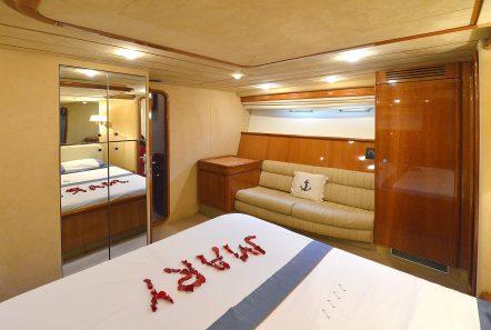 mary motor yacht master cabin (1) min -  Valef Yachts Chartering - 1474