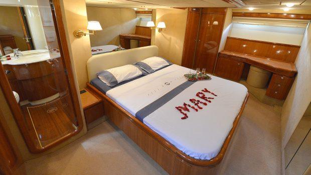 mary motor yacht master cabin (2) min -  Valef Yachts Chartering - 1473