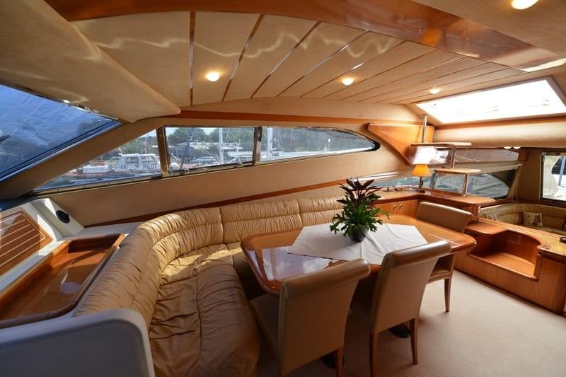 mary motor yacht salon (1) min -  Valef Yachts Chartering - 1472