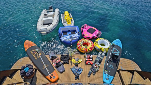 sugar motor yacht sea toys min -  Valef Yachts Chartering - 1538