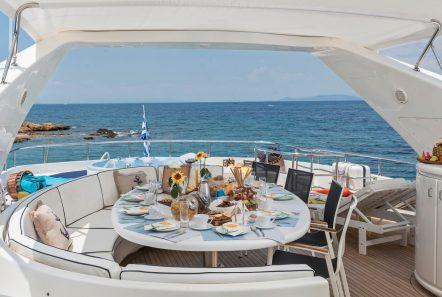 sugar motor yacht sun deck min -  Valef Yachts Chartering - 1537