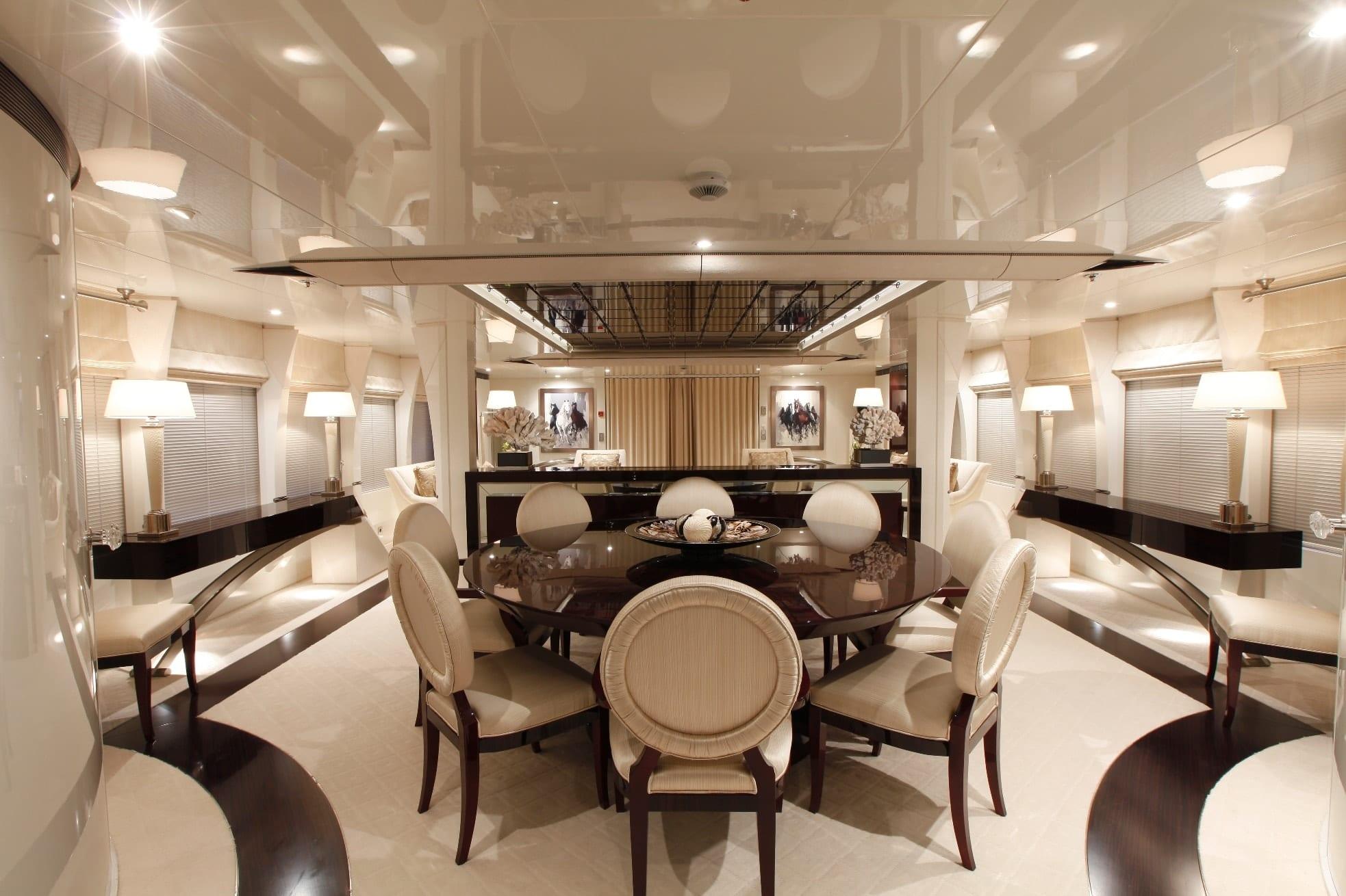 vera motor yacht dining min -  Valef Yachts Chartering - 1482