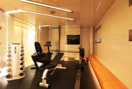 vera motor yacht gym min -  Valef Yachts Chartering - 1480