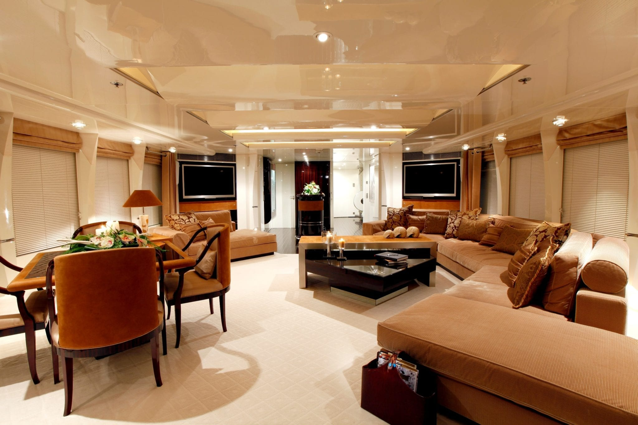 vera motor yacht upper salon min -  Valef Yachts Chartering - 1485