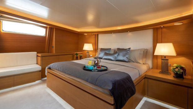 celia motor yacht VIP stateroom (2) min -  Valef Yachts Chartering - 1332