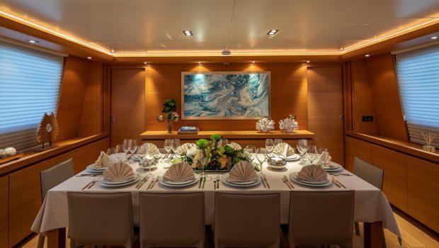 celia motor yacht dining min -  Valef Yachts Chartering - 1323