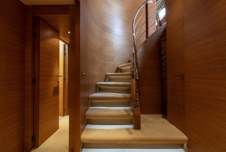 celia motor yacht stairs min -  Valef Yachts Chartering - 1336