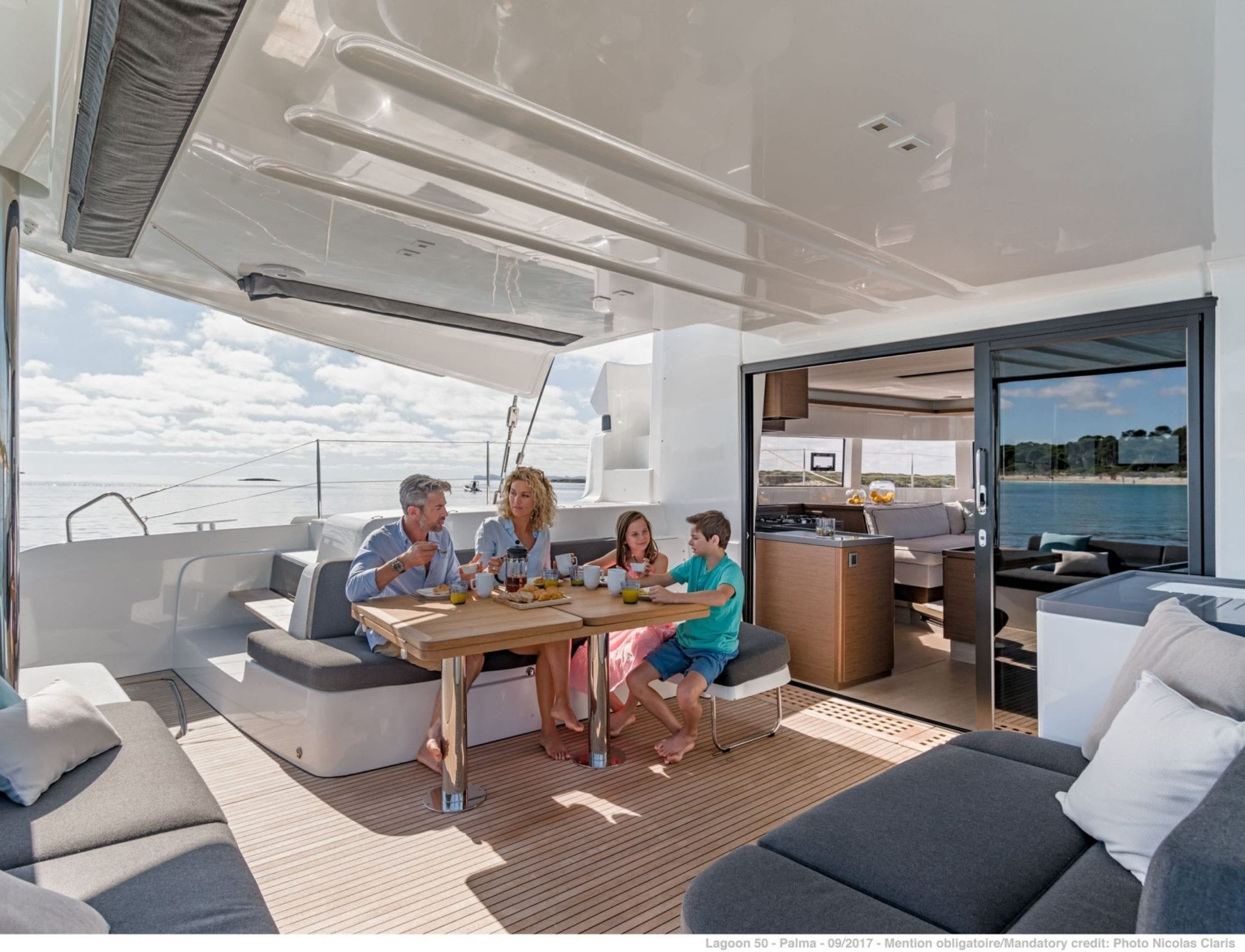 happy feet motor yacht aft deck min -  Valef Yachts Chartering - 1378