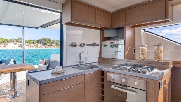 happy feet motor yacht galley min -  Valef Yachts Chartering - 1386