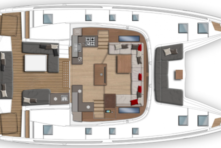 happy feet motor yacht layout2 -  Valef Yachts Chartering - 1385