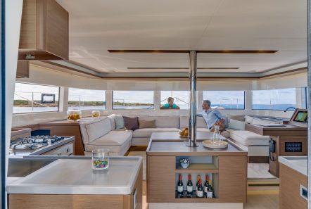 happy feet motor yacht salon (1) min -  Valef Yachts Chartering - 1382