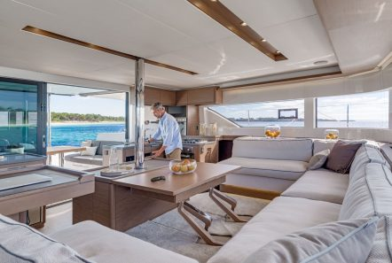 happy feet motor yacht salon (2) min -  Valef Yachts Chartering - 1381