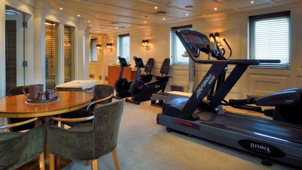 christina o megayacht gym -  Valef Yachts Chartering - 1185