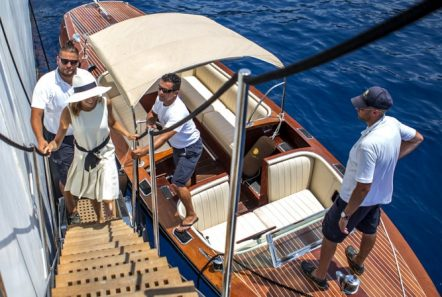 christina o megayacht hackers docking min -  Valef Yachts Chartering - 1184