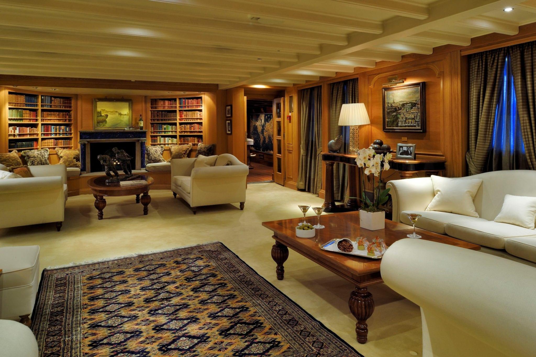 christina o megayacht lapis lounge (2) -  Valef Yachts Chartering - 1177