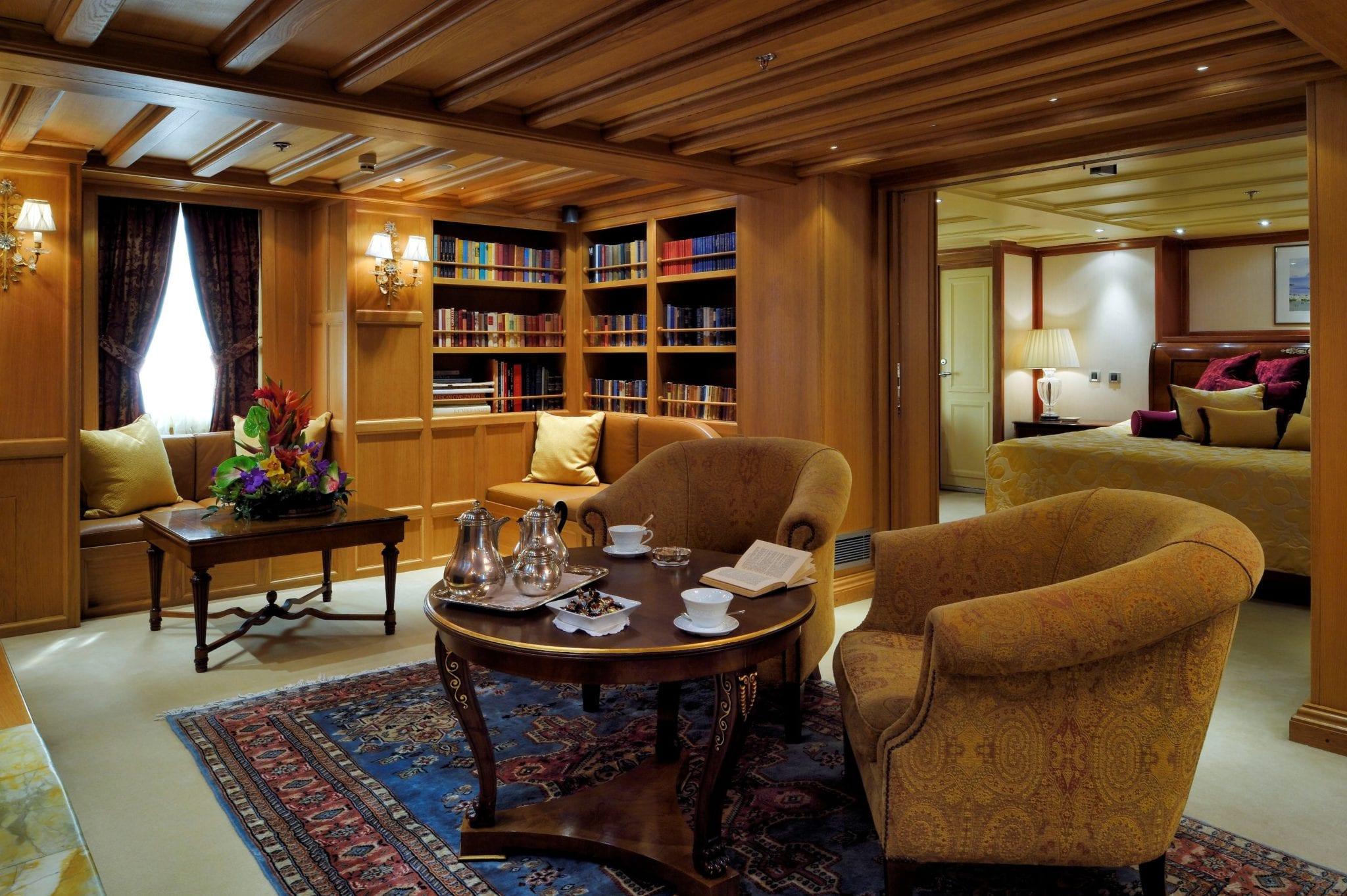 christina o megayacht onassis suite (2) -  Valef Yachts Chartering - 1173