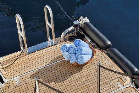 christina o megayacht swim platform min -  Valef Yachts Chartering - 1167
