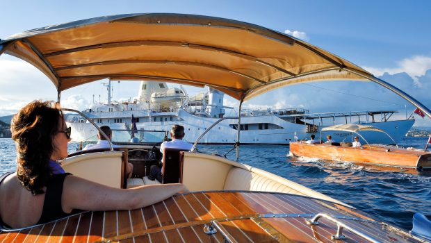 christina o megayacht view from hackers min -  Valef Yachts Chartering - 1165