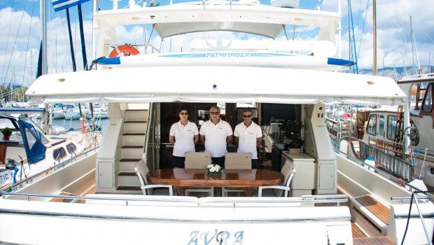 avra motor yacht crew min -  Valef Yachts Chartering - 1051