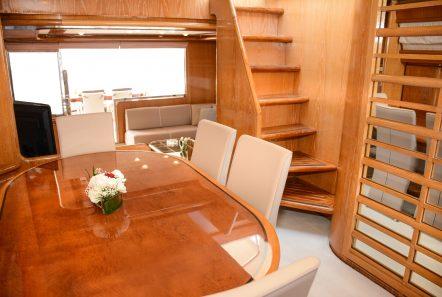 avra motor yacht dining min -  Valef Yachts Chartering - 1049