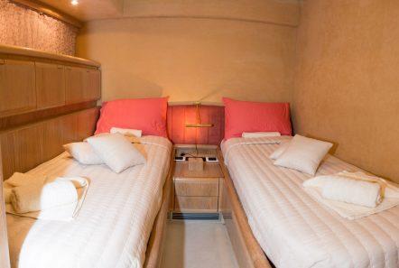 avra motor yacht twin stateroom (1) min -  Valef Yachts Chartering - 1058
