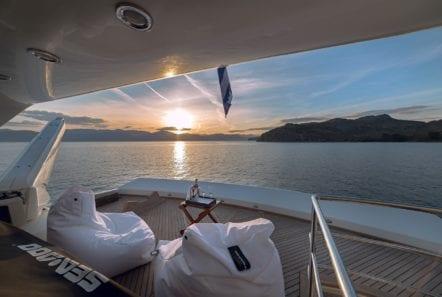 aquila motor yacht swim platform min -  Valef Yachts Chartering - 1002