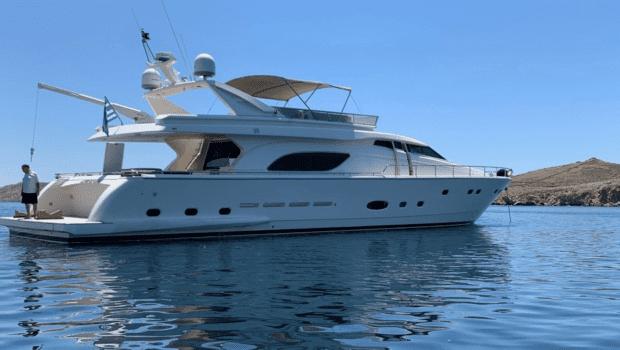 armonia motor yacht exterior profile (1) min -  Valef Yachts Chartering - 1021