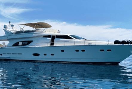 armonia motor yacht exterior profile (3) min -  Valef Yachts Chartering - 1019