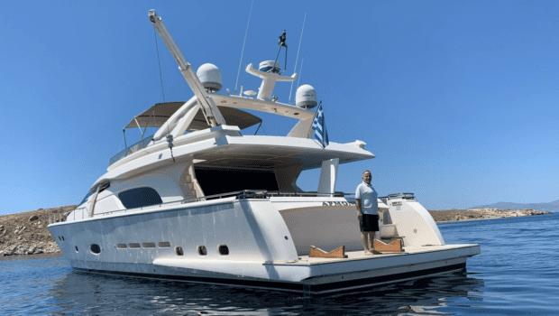 armonia motor yacht exterior profile (4) min -  Valef Yachts Chartering - 1018