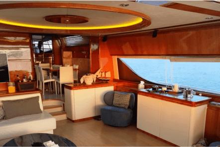armonia motor yacht salon (1) min -  Valef Yachts Chartering - 1026