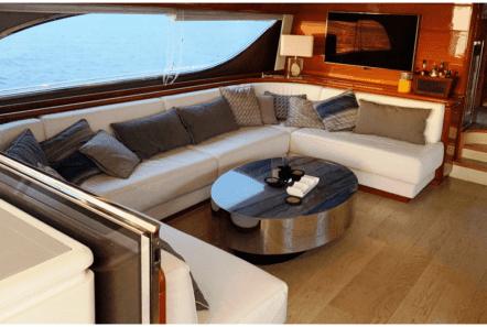 armonia motor yacht salon (2) min -  Valef Yachts Chartering - 1025