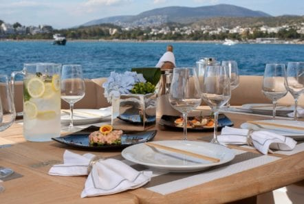 mi alma motor yacht aft dining (1) -  Valef Yachts Chartering - 0969