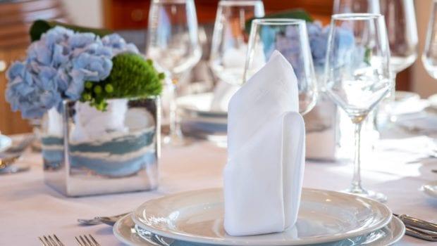 mi alma motor yacht interior dining (2) -  Valef Yachts Chartering - 0983