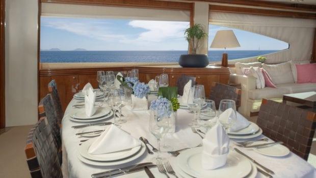 mi alma motor yacht interior dining min -  Valef Yachts Chartering - 0937