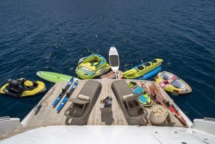 mi alma swim platform sea toys (1) min -  Valef Yachts Chartering - 0947