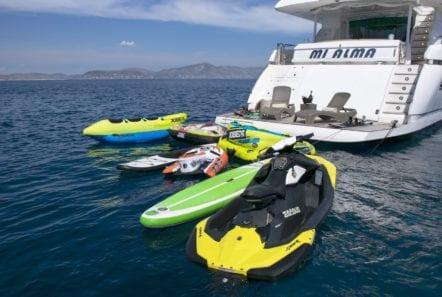 mi alma swim platform sea toys (2) min -  Valef Yachts Chartering - 0946