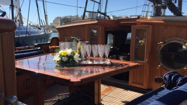 prince motor sailer aft deck (1) -  Valef Yachts Chartering - 0885