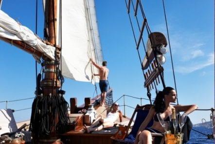 prince motor sailer deck (2) -  Valef Yachts Chartering - 0918