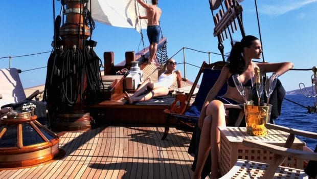 prince motor sailer deck (3) -  Valef Yachts Chartering - 0917