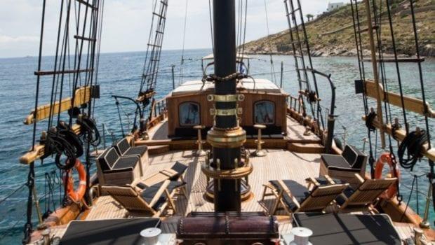 prince motor sailer deck (4) -  Valef Yachts Chartering - 0916