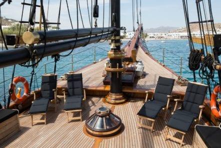 prince motor sailer deck (5) -  Valef Yachts Chartering - 0915