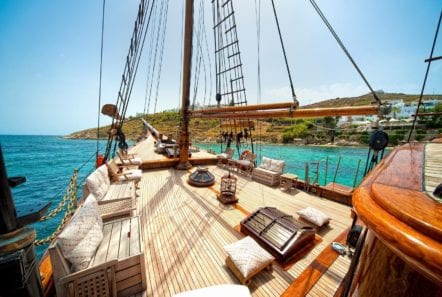 prince motor sailer deck (6) -  Valef Yachts Chartering - 0914