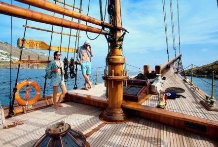 prince motor sailer deck (7) -  Valef Yachts Chartering - 0913