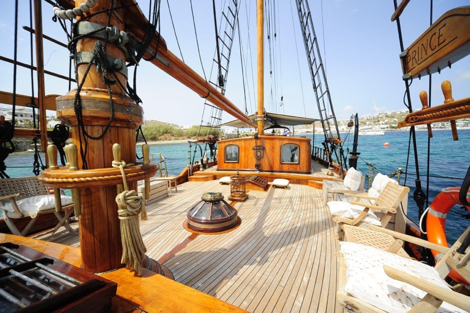 prince motor sailer deck (9) -  Valef Yachts Chartering - 0911