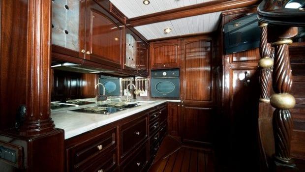prince motor sailer galley -  Valef Yachts Chartering - 0900